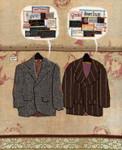 Coat Room Conversation Print