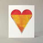 Love Triangle Note Cards
