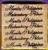 Malacanang Palace Mint Imelda Marcos, Actual Item