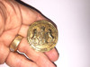 Mirror Mirror Metal Gold Tax Coin Real Prop