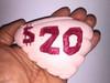The Flintstones in Viva Rock Vegas Real Prop $20 Clam Shell Money Item