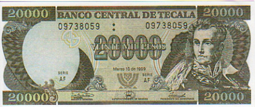 Proof Of Life, 20,000 Pesos Paper Money Real Prop, Russell Crowe, Meg Ryan