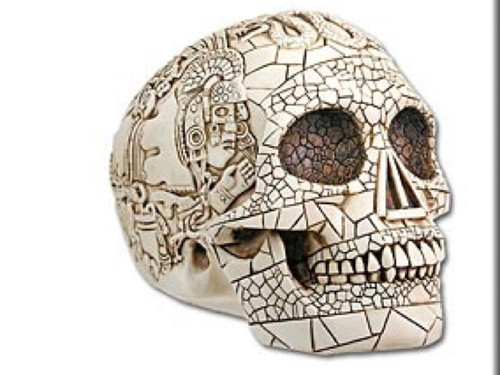Ancient Aztec Mystical Skull, Very Detail, Neat Piece