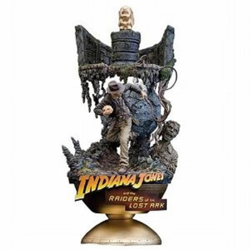 Indiana Jones ArtFX Theater Raiders of the Lost Ark Statue, New in Box