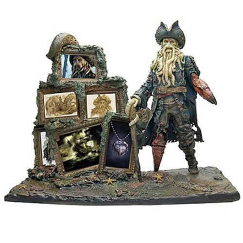 Pirates Of The Caribbean, Davy Jones Scene Statue, Master Replicas, New, Very Detailed