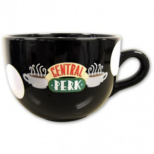 Friends Central Perk Mug, Black