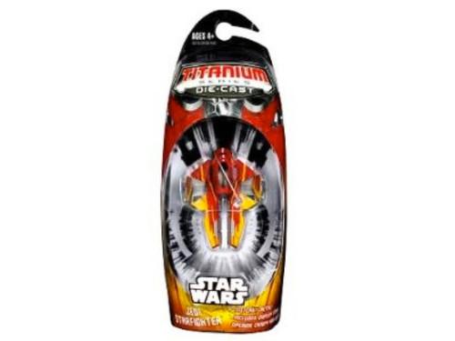 Star Wars Titanium, Die Cast Jedi Starfighter, New