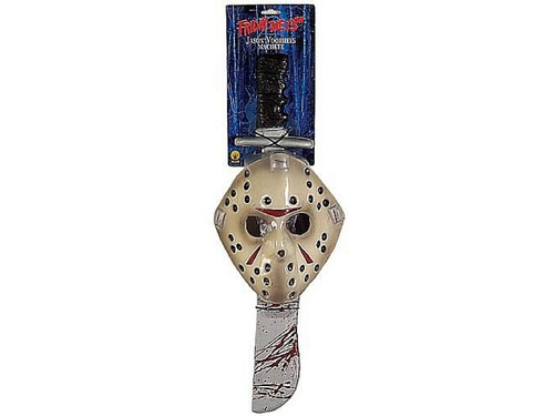 Friday the 13th Jason Mask & Machete Kit