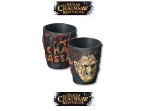 Texas Chainsaw Massacre, Leatherface Shot Glass, New