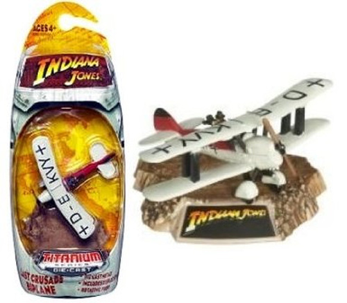 Indiana Jones, Micro Machine, Die Cast, BiPlane