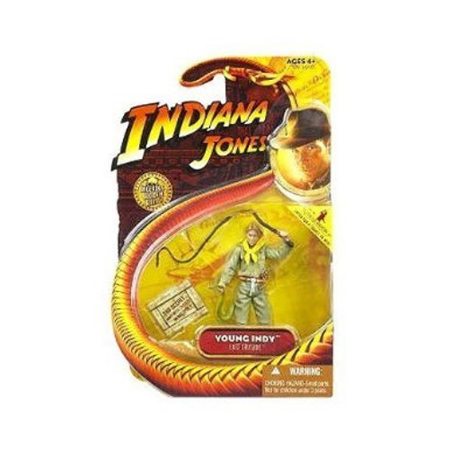 Indiana Jones Young Indy Action Figure, New
