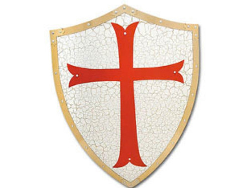 Knights Templar Shield, New