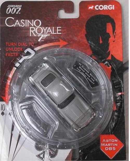 007 James Bond, Casino Royale Die-Cast Aston Martin DB5 CAR, New Fresh From Case