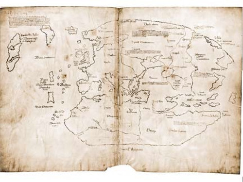 Vinland, First Map of Americas, Discovered by Vikings, Download