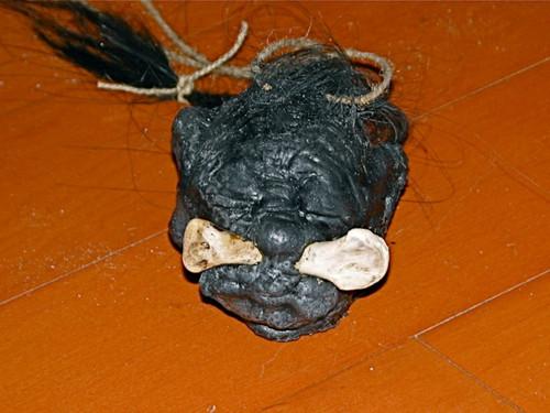 Shrunken Voodoo Head