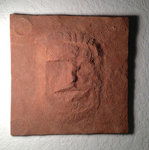 Cydonia, Face on Mars Display Plaque, Sandy Textured Just like Mars, Very Detailed