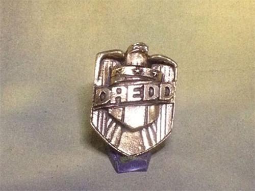 Judge Dredd Badge, Metal, Gold (Second)