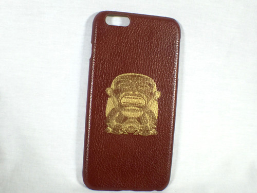 Arnoldus Indiana Jones Idol Brown Leather IPhone 6 Plus & 6S Plus Phone Case