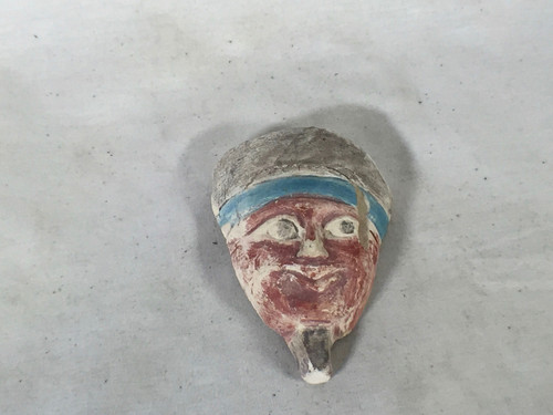 Young Indiana Jones Chronicles Real Prop Egyptian Head Sculpture Type B