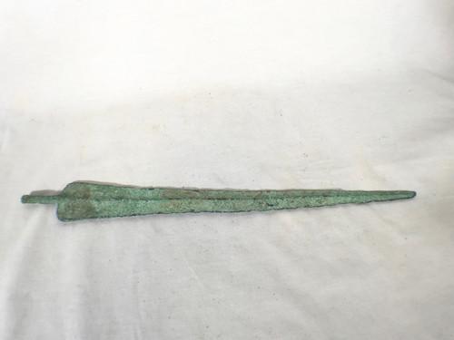 Real Rare Ancient Near East Bronze Dagger 2nd Millennium BCE