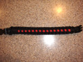 Red & Black Survival Bracelet