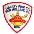 Liberty New Holland Fire Company Patch