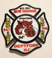 New Sharon Deptford Fire Department Patch