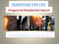[Book & CD] Searching for Life  Fireground Residential Search