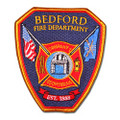Bedford Fire Department Patch