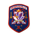 Monroeville 5 Department Patch