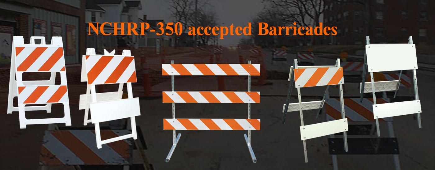 NCHRP-350 Barricades