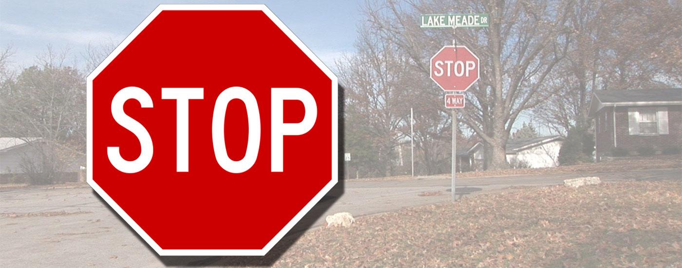 Stop Signs, Type 4 Stop Signs, Type IV Stop Signs