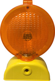 AC4D Amber Barricade Light