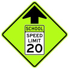 FED S4-5 Reduced Speed (School) Zone Ahead