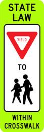 FED R1-6b Yield In-Street School Crossing