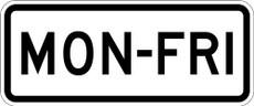S4-6 MON-FRI Sign