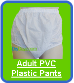 DryDayz PVC Plastic Pants For Adults