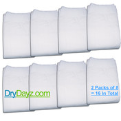 Pack of 16 Drydayz nappies for adults size medium