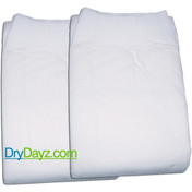 Pack of 2 Drydayz Nappies for adults size large