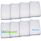 Pack of 8 Drydayz Diapers for adults size large