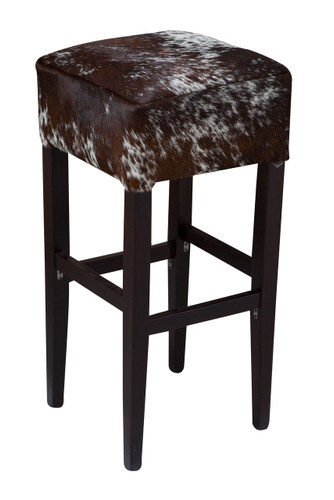 Brown and White Speckled Bentley Bar Stool