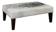 3ft x 2ft Cowhide Footstool FST877