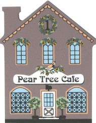 Cat's Meow Village Shelf Sitter - 12 Days Christmas Pear Tree Cafe 00-131