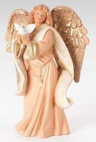 "Fontanini ROMAN 5"" Aiya Memorial Angel Figure #54041 Polymer Gift Box"