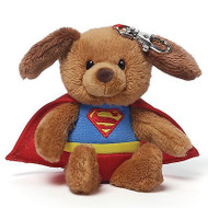 GUND DC Comics Super Hero Superman Griffin Backpack Handbag Clip #4048562 NEW