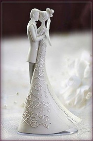 "ROMAN Freehill 9"" Wedding Cake Topper Language of Love First Dance # 63455 NIB"