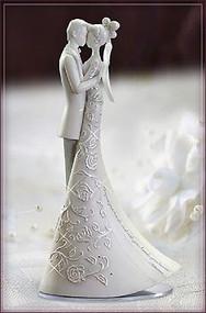 "ROMAN Freehill 9"" Wedding Cake Topper Language of Love First Dance # 63455 NIB"
