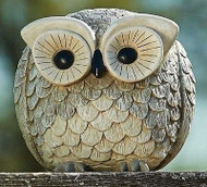 """ROMAN Pudgy Pals 6.75"""" Owl Garden Statue #75260 NEW Boxed"""