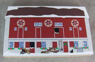 Pennsylvania Dutch Christmas Hex Barn