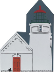 Cat's Meow Village Shelf Sitter Florence Oregon, Heceta Head Lighthouse #2943